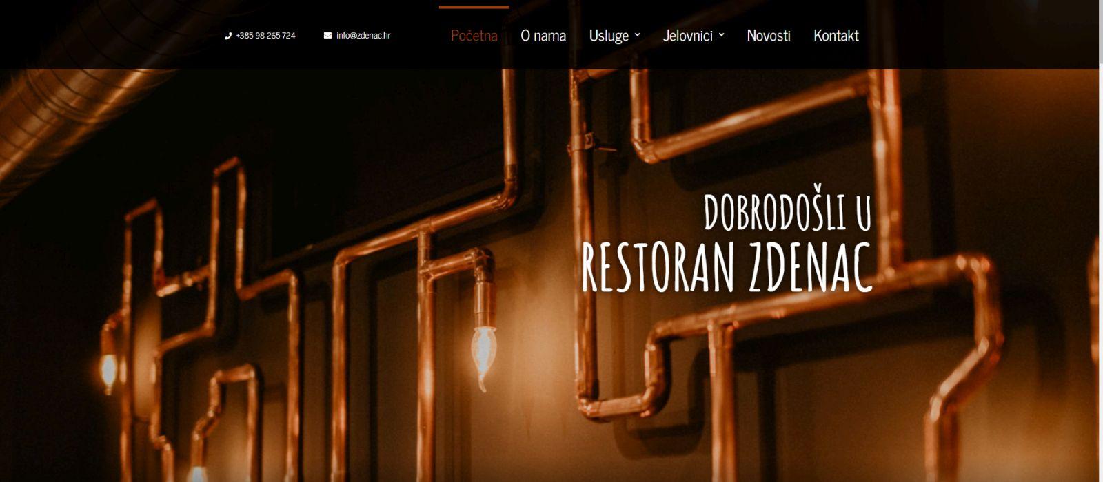 Nova web stranica